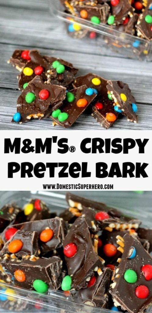 M&M's® Crispy Pretzel Bark