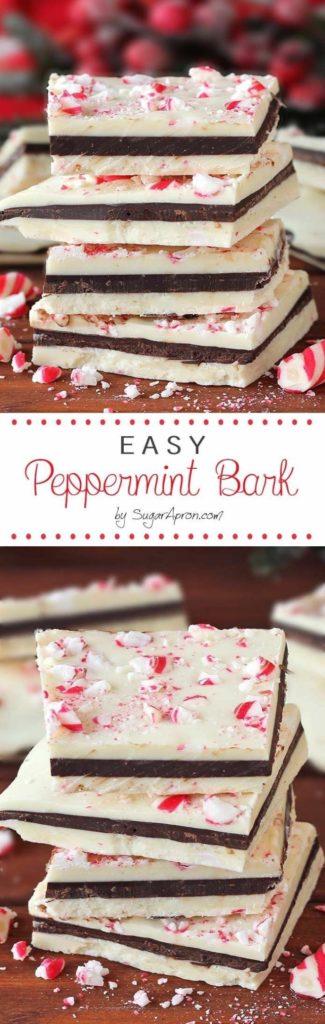 Easy Peppermint Bark