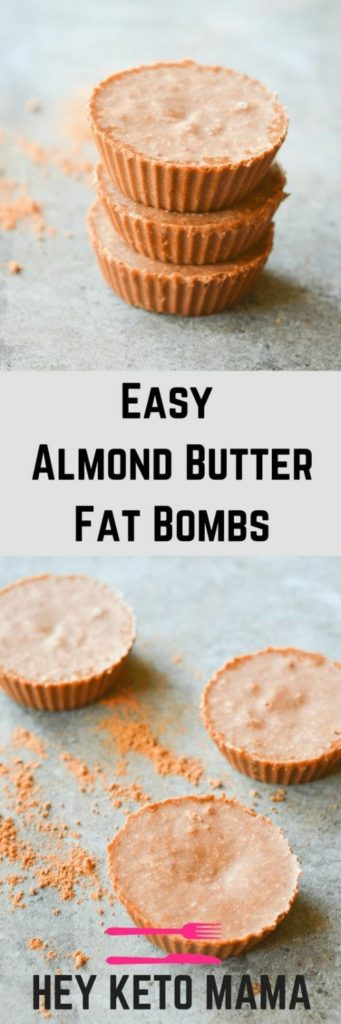 Easy Almond Butter Fat Bombs