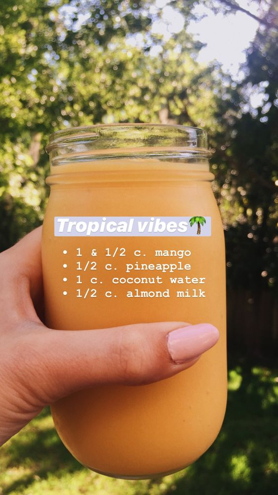 Tropical Vibes Smoothie