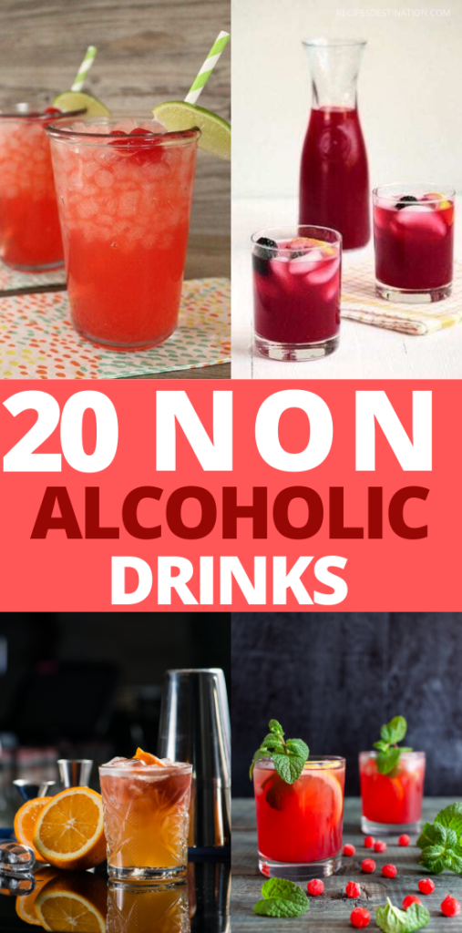 20+ Best Easy Non Alcoholic Summer Drink Recipes - Best summer Drink Recipes. EASY TO DO