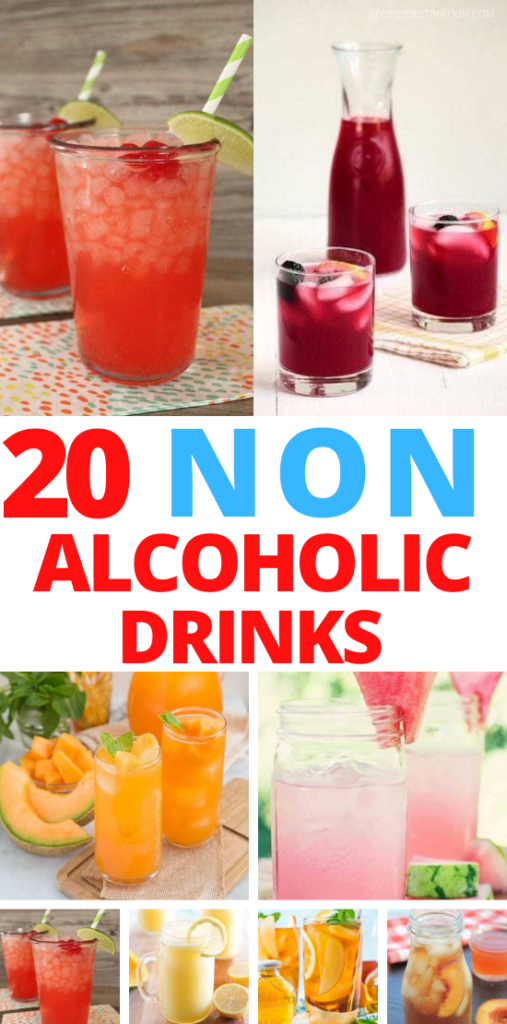 20+ Best Easy Non Alcoholic Summer Drink Recipes - Best summer Drink Recipes