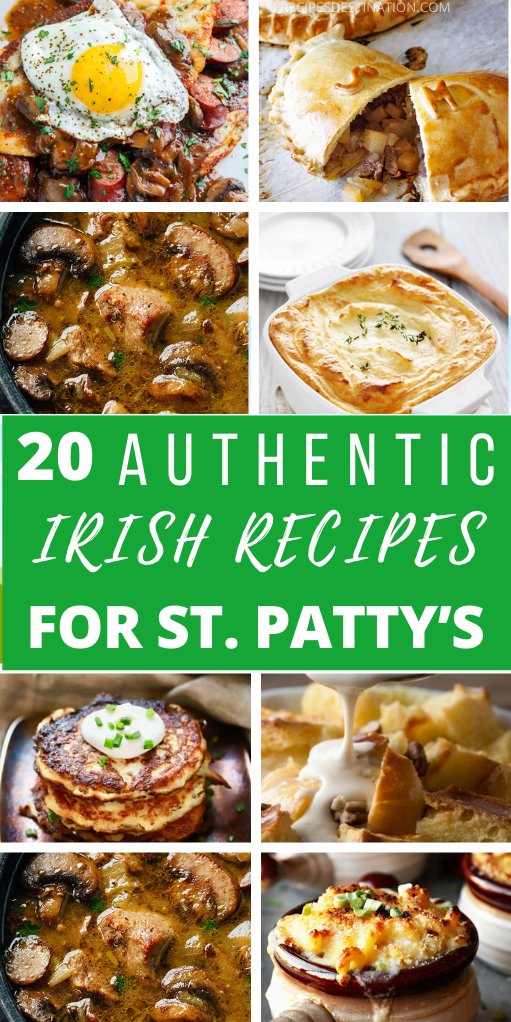 20 Authentic Easy Irish Recipes for St. Patrick's Day