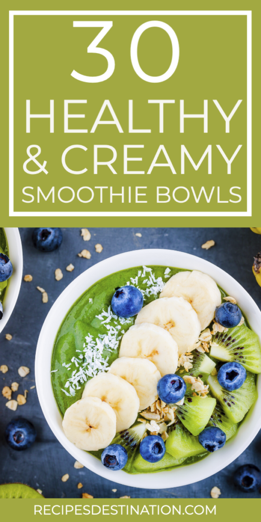 healthy Smoothie bowl