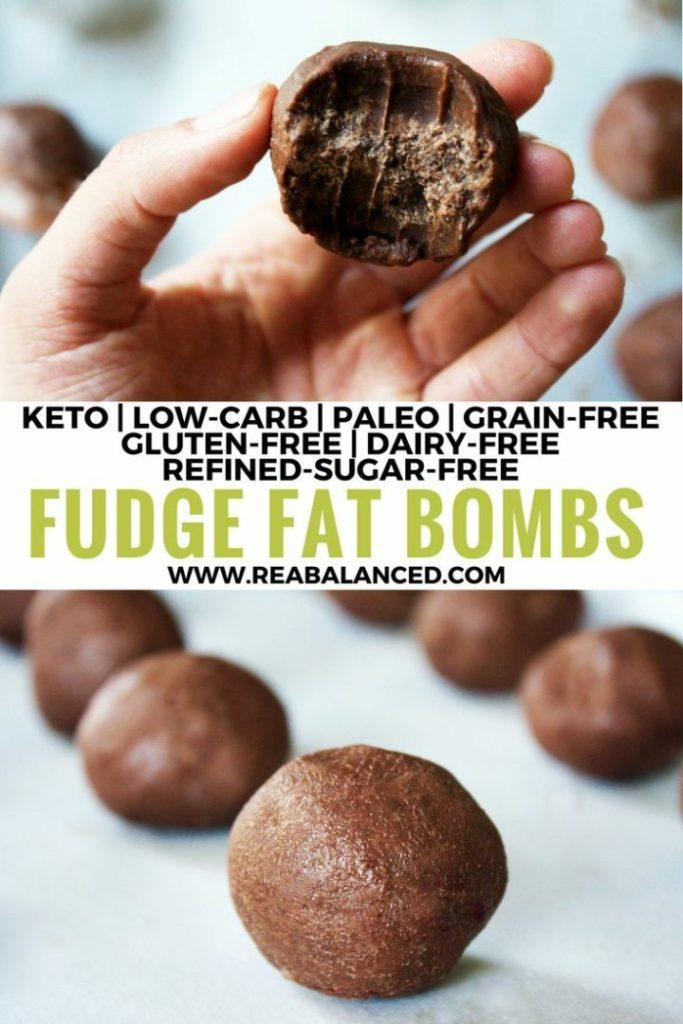 Fudge Fat Bombs.